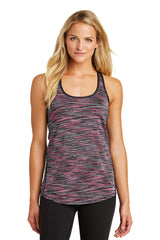 OGIO ® Endurance Verge Racerback Tank - Fierce Coral Space Dye (1-2 Week Production Time)