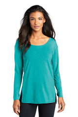 Luuma Long Sleeve Tunic by OGIO® - Teal (Ships in 2-3 Weeks)