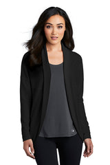 Luuma Open Front Cardigan by OGIO® - Black (Ships in 1-2 Weeks)