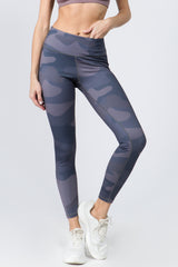 Jaclyn Camo Print Active Leggings