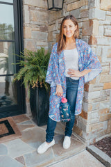 Bell Sleeve Kimono by Simply Southern - Paisley