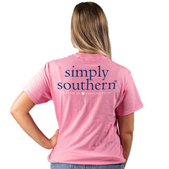Pink Logo Short Sleeve by Simply Southern