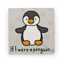 If I Were A Penguin Book by Jellycat