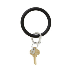 O-Venture Silicone Key Ring - Back in Black