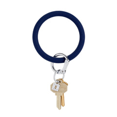 O-Venture Silicone Key Ring - Midnight Navy