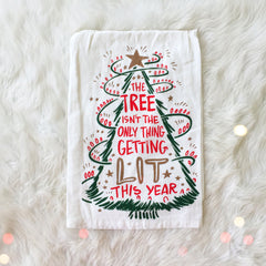 'Getting Lit' Kitchen Towel by PBK