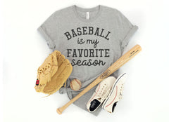 'Baseball is My Favorite Season' Signature Graphic Tee (Ships in 2-3 Weeks)