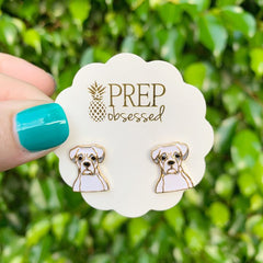 Signature Pet Enamel Studs by Prep Obsessed - Boxer
