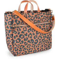 Codie Nylon Tote - Leopard (1-2 Week Production Time)