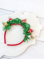 Christmas Ornament Ball Headband