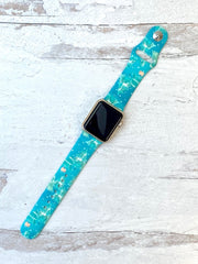 Winter Wonderland Printed Silicone Watch Band