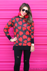 Valentine's Night Heart Everyday Tunic