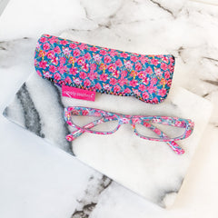 Tropical Floral Reading Glasses by Simply Southern