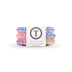 Teleties Hair Tie - Small Band Pack of 3 - Eat Glitter For Breakfast