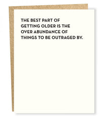'Best Part of Getting Older' Birthday Card