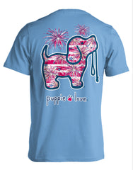 Fireworks Pup Short Sleeve by Puppie Love
