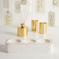 Frasier Fir Tea Light Display by Thymes at Prep Obsessed
