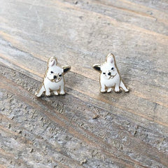 Signature Pet Enamel Studs by Prep Obsessed - Frenchie