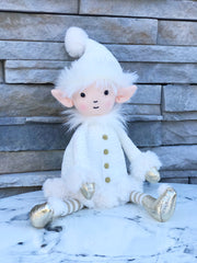 Snowflake Elf Stuffed Animal by Jellycat