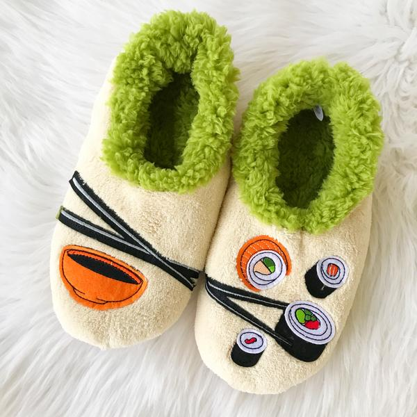bdac6b7794a Snoozies! Slippers - Sushi – Prep Obsessed