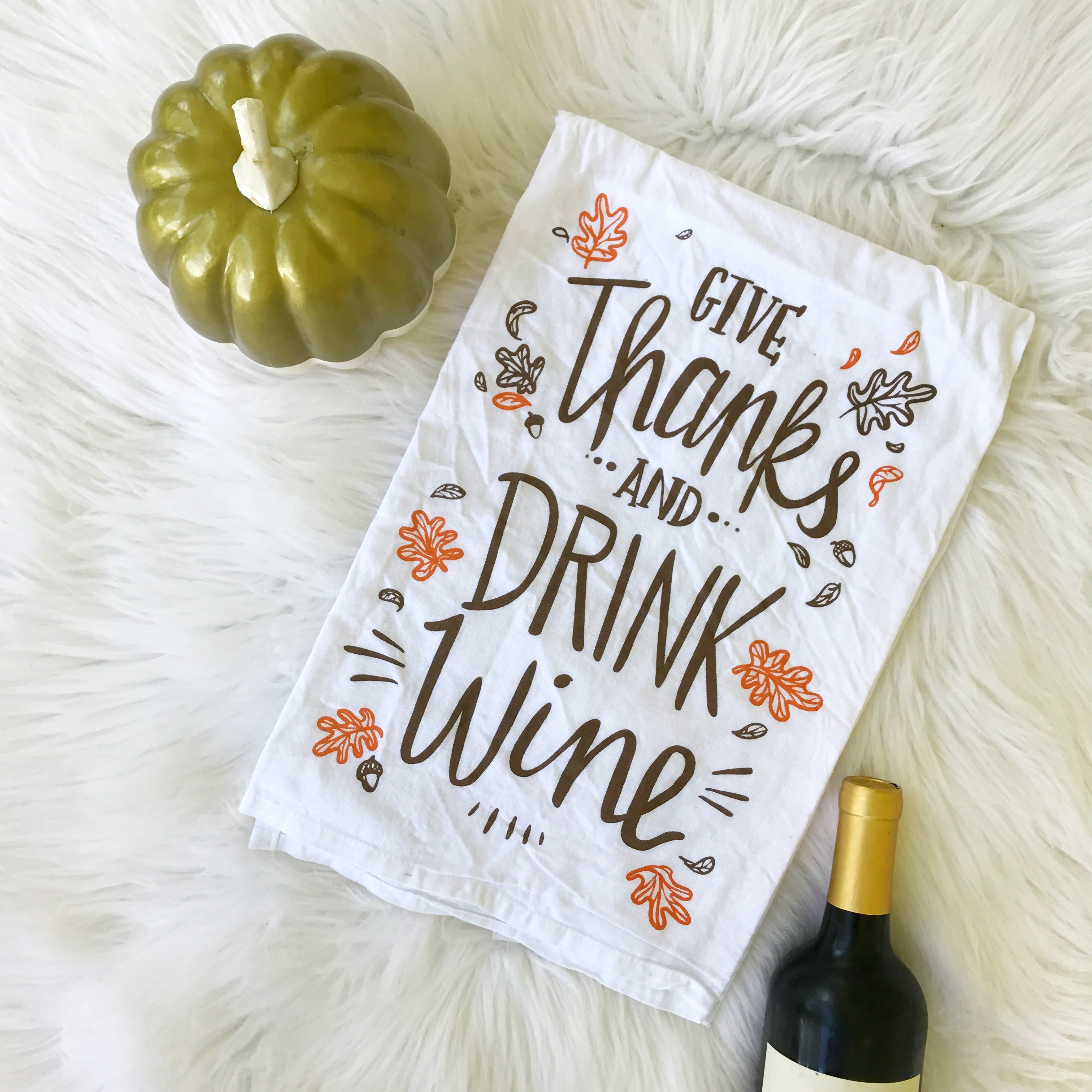 Thanksgiving Kitchen Towel By Primitives By Kathy ...