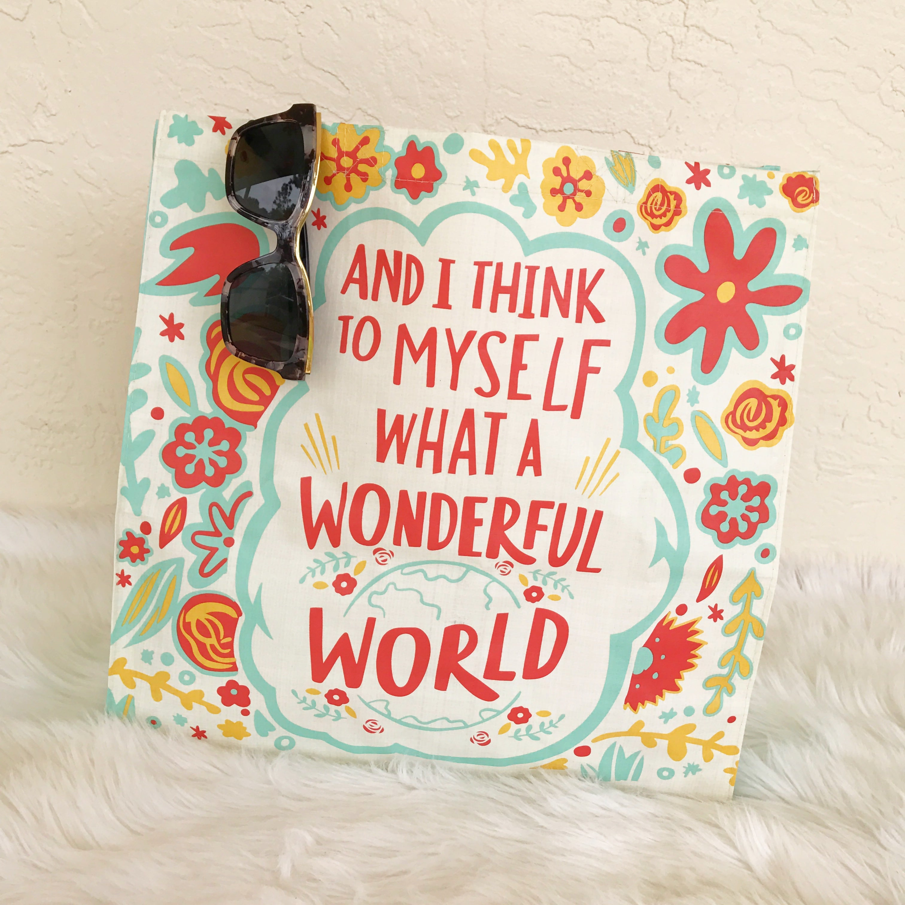 Wonderful world market tote by pbk prep obsessed wonderful world market tote by pbk m4hsunfo