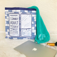 I Cannot Adult Today Market Tote by PBK