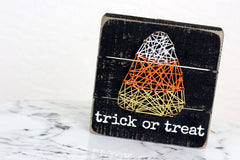 Halloween Box Sign by Primitives by Kathy