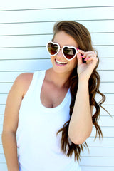 Heart Shaped Sunglasses- Multiple Colors Available