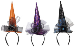 Witch Hat Headband - Choice of Color