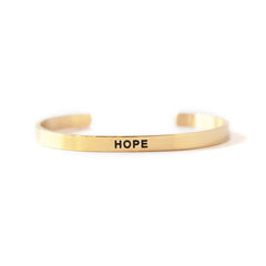 'Hope' Cuff Bracelet by Lillian & Co.