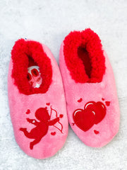 Snoozies! Valentine's Slippers - Cupid