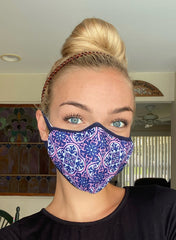 Adult Face Covering by Simply Southern - Damask