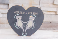 'You're My Person' Chunky Sitter by PBK