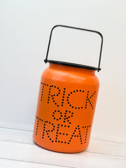 Trick-or-Treat Metal Canister