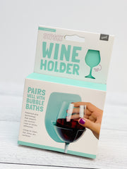 Shower & Bath Wine Holder - Seafoam Green