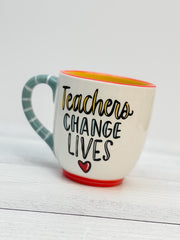 'Teachers Change Lives' Mug