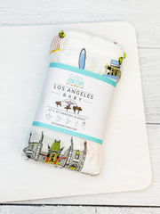 Los Angeles Baby Swaddle Blanket