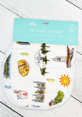Los Angeles Baby Burp/Bib Combo