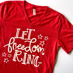 Let Freedom Ring Short Sleeve Graphic Tee at Prep Obsessed