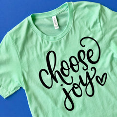 Choose Joy Graphic Tee at Prep Obsessed