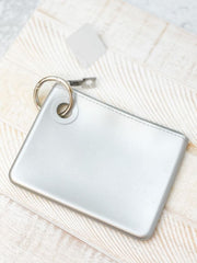 Mini Silicone Pouch by O-Venture - Solid Quicksilver