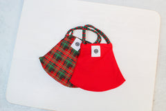 Pomchies Pom Mask 2 Pack - Holiday Tartan