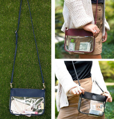 Addison Clear Crossbody - Choice of Color