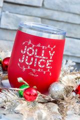 'Jolly Juice' Stemless Stainless Steel Tumbler