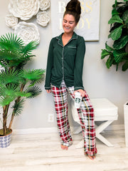 Plaid Tidings Sleep Pants