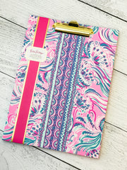 Clipboard Folio by Lilly Pulitzer - Don't Be Jelly