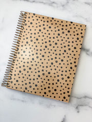 Spotted Dot Spiral Notebook