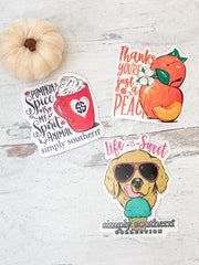 Car Decal Set by Simply Southern - Sweet & Spicy