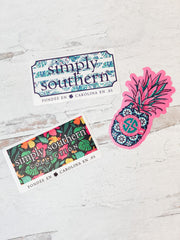 Car Decal Set by Simply Southern - Tropical